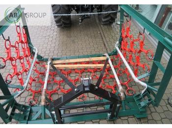Chain harrow Metal-Technik Wiesenegge schwere 6m/Drag harrow meadow/Regenerador de praderas 6m