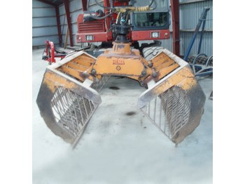 Hema Roekurv med rotator / Beet grab with rotator - grapple