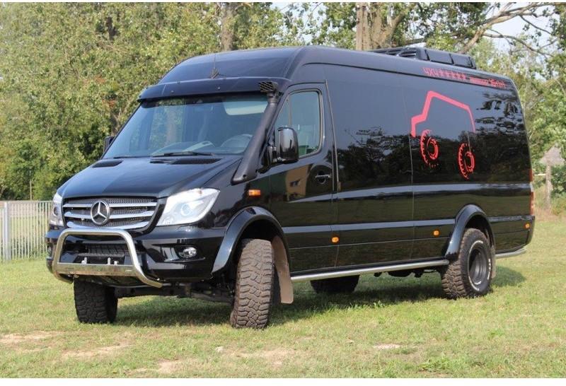 Mercedes Sprinter 4X4 >> Minibus Mercedes Benz Sprinter 519 Cdi 4x4 35 3 0 140 K 3189874