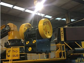 FABO CLK-60 SERIES 60-120 TPH PRIMARY JAW CRUSHER - crusher