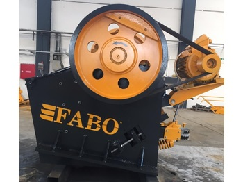 FABO CLK-90 SERIES 120-180 TPH PRIMARY JAW CRUSHER - crusher