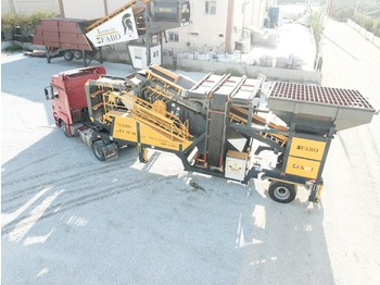 FABO ME 1230 SERIES MOBILE SAND SCREENING PLANT - crusher
