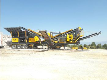 FABO PRO-100 MOBILE CRUSHING & SCREENING PLANT FOR MARBLE - crusher