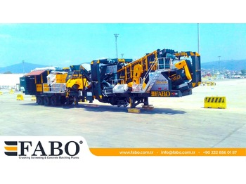 FABO MOBILE CRUSHING PLANT - mining machinery