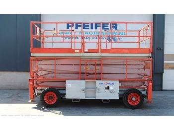 Scissor lift SkyJack SJ9250RT Diesel, 4x4 Drive, 17m Working Height, Ro