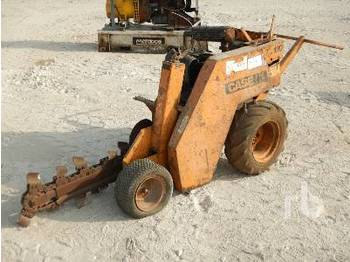 CASE TL120 Walk Behind Rubber-Tired Mini - trencher
