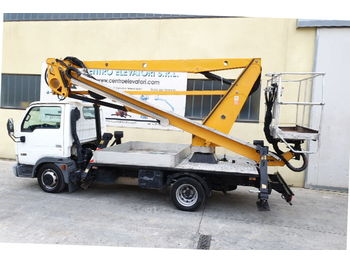 Truck mounted aerial platform Nissan Oil & Steel Snake 189 City Nissan: picture 1
