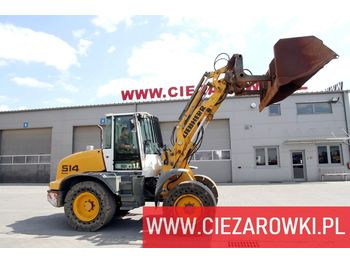 LIEBHERR L 514 Stereo / 10t / long reach - hi top bucket / joystick cont - wheel loader