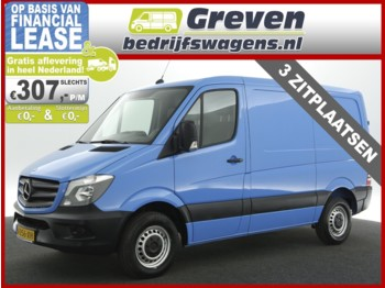 Closed box van Mercedes-Benz Sprinter 210 2.2 CDI 325 HD L1H1 Airco 3 Persoons Elektrpakket Trekhaak