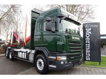 Timber transport Scania G440 6x2/4 Highline