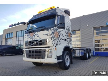Timber transport Volvo FH16 660 Globetrotter, Euro 4, Intarder