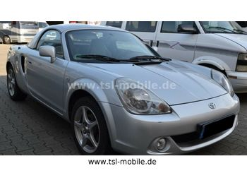 Toyota MR 2, 1.8L, Roadster mit sep. Hardtop, Leder  - car