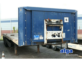 Container transporter/ swap body semi-trailer Krone SD, Containerchassis, 1x 40Fuß, 2x 20Fuß, Luft