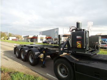 LAG O-3-CC A9 20 ft tipping ADR top condition - container transporter/ swap body semi-trailer