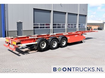 Pacton T3-007 | 40-45ft HC * LIFT AXLE * PALLET BOX - container transporter/ swap body semi-trailer