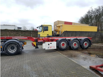 Sical Container Chassis 3 x ausziebar  - container transporter/ swap body semi-trailer