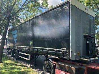 Kelberg 2AS 1X AS GESTUURD  - curtainsider semi-trailer