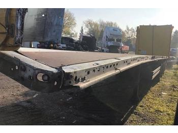 Schmitz Cargobull Standard 13,6 TRAILER *damage*  - curtainsider semi-trailer