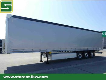 Schmitz Cargobull Tautliner X-Light 5740 kg. Liftachse, Alu Felgen  - curtainsider semi-trailer
