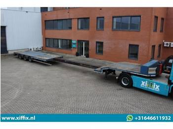 Low loader semi-trailer Nooteboom 3-ass. Uitschuifbare semi dieplader: picture 1