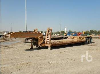 T/A - low loader semi-trailer