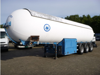 Tank semi-trailer Robine Gas tank steel 49 m3 + pump
