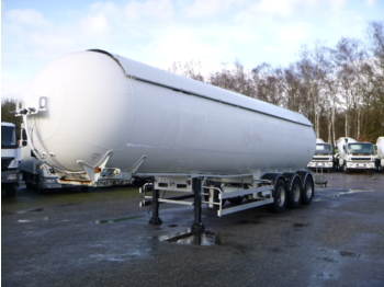 Tank semi-trailer Robine Gas tank steel 50 m3
