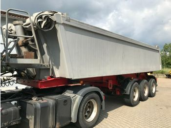 Kögel SKMP 24 Alumulde Liftachse Podest Rollplane  - tipper semi-trailer