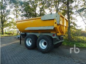 LINDNER&FISCHER HP 21 FRONT - tipper semi-trailer