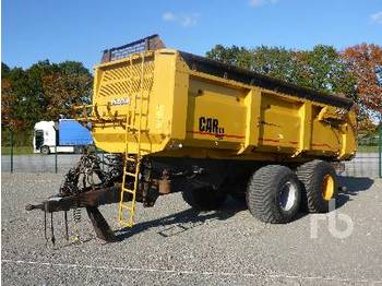 PEECON CAR-180 2/Axle - tipper semi-trailer