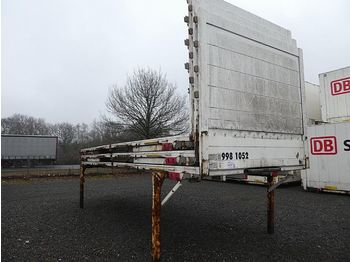 Curtainside swap body Krone 3 St. Baustoff - Flats, BDF-7.45