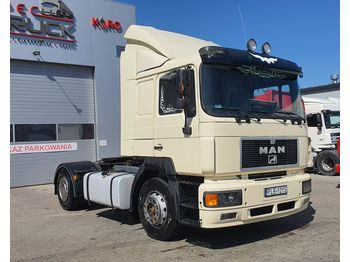 MAN F2000 19.403, Steel /Air, Manual Pomp, EURO 2 - tractor unit