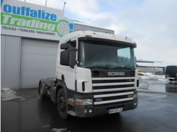 Scania 114L 380 - manual - Euro 2 - tractor unit