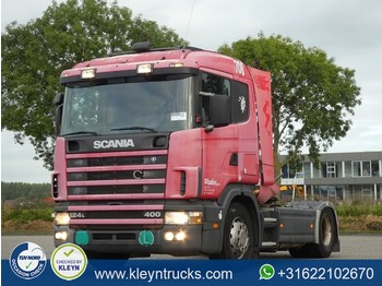 Scania R124.400 cr19 manual - tractor unit