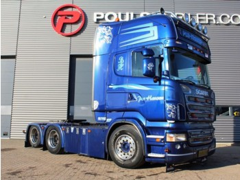 Tractor unit Scania R500 6x2 3100mm hydr.