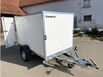Brenderup - 7260BD 1300 Türe, Kofferanhänger 1,3 to. 260x155x150cm - closed box trailer