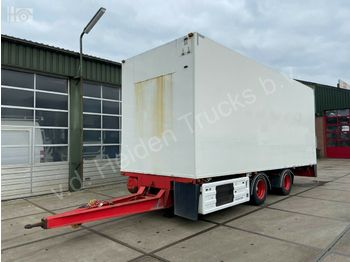 Closed box trailer DRACO MXS 220