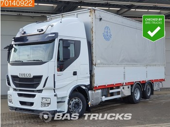 Iveco Stralis Hi-Way AS440S48 6X2 ACC Lift + Steering Axle Hydraulik Xenon - box truck