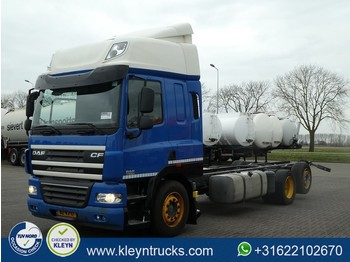 DAF CF 85.410 6x2 euro 5 - cab chassis truck