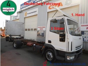 Cab chassis truck Iveco 75E15 EuroCargo LBW*1.Hand*3 Sitzer Tempomat