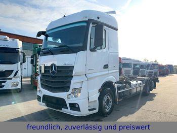 Mercedes-Benz *ACTROS 2545 * EURO 6 * 1 HAND *  - container transporter/ swap body truck