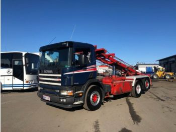 SCANIA P124 6x2*4 - container transporter/ swap body truck