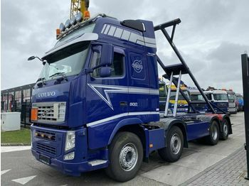 Container transporter/ swap body truck Volvo FH 500 8X2 + N.C.H. KIPPER CHASSIS MET TWISTLOCK