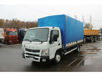 Curtainsider truck Mitsubishi FUSO CANTER 7C15 , HYDRAULIC LIFT