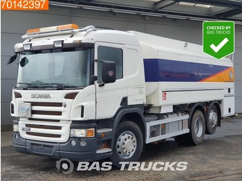 Tank truck Scania P420 6X2 17.000 liters 4 CompartmentsRetarder ADR 6x2/4 Pump