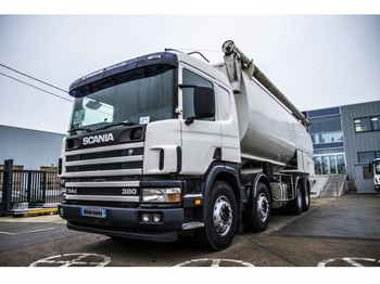 Tank truck Scania P 380 + ECOVRAC (6 comp.)