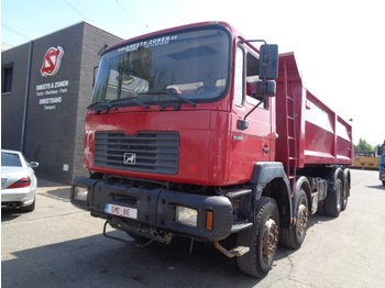 MAN 35.364 8x4 manual pump - tipper