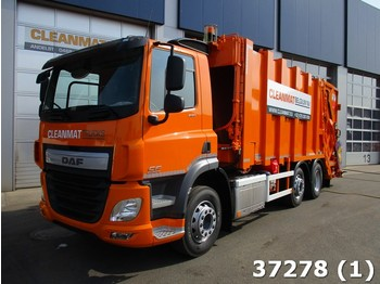Garbage truck DAF FAG CF 290 VDK 22m3 SULO weighing system