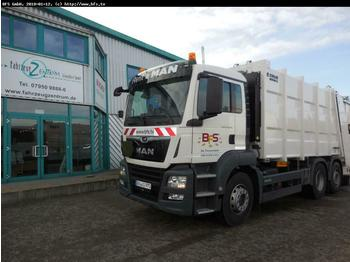MAN TGS 28.320 6x2-4 BL HL Zöller Medium XL22 V1 - Z  - garbage truck