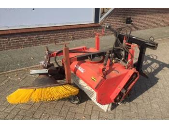 Sweeper Kersten veegmachine shovel